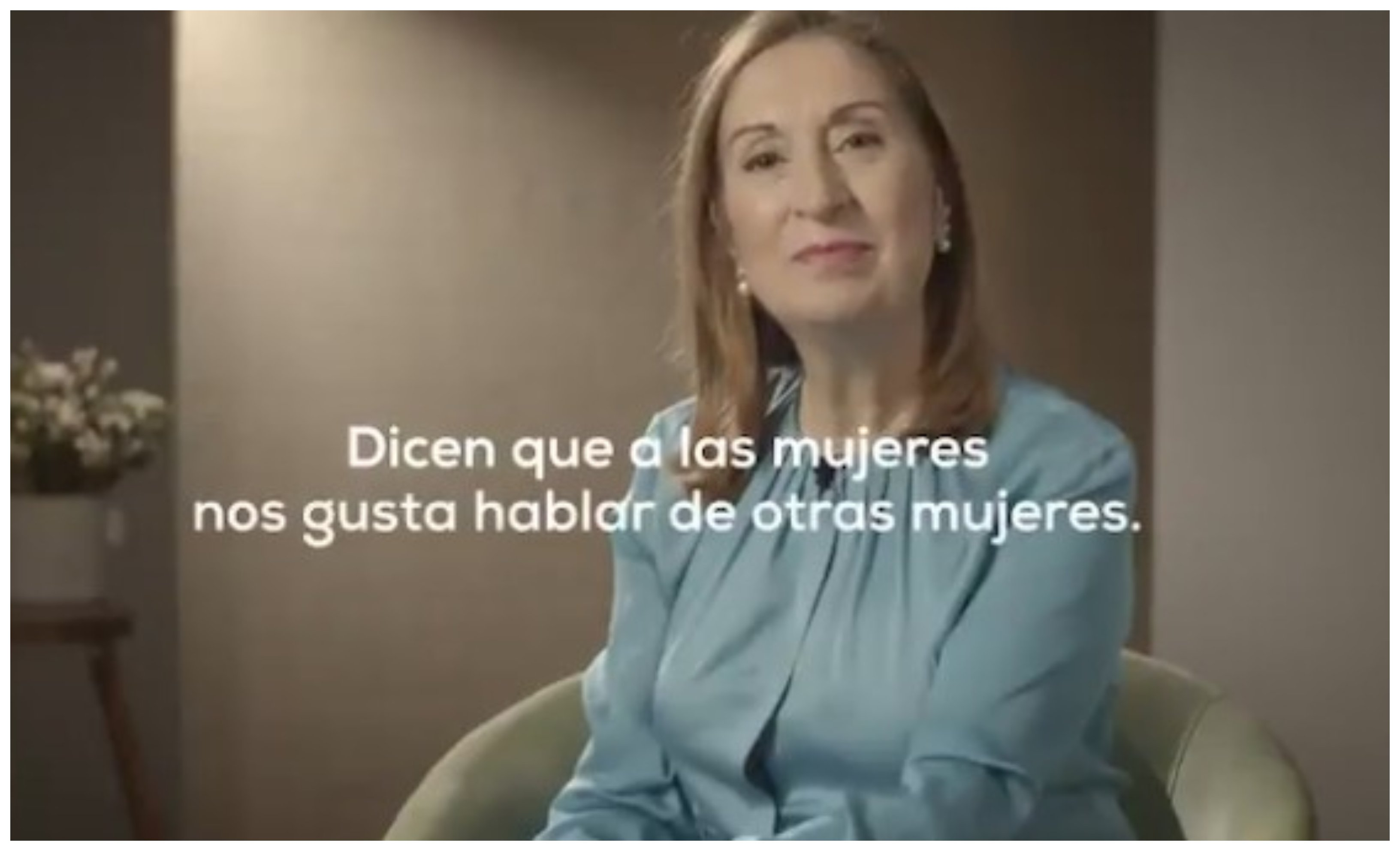 Vídeo de mujeres del PP hablando de las mujeres de otros partidos