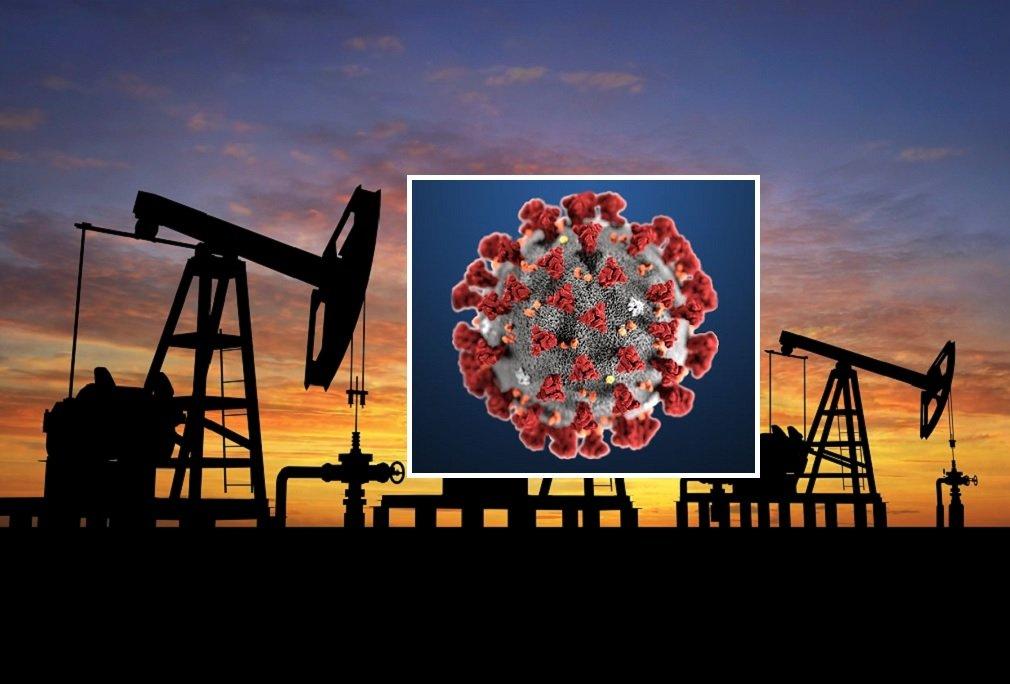 El petróleo también se ve afectado por el coronavirus