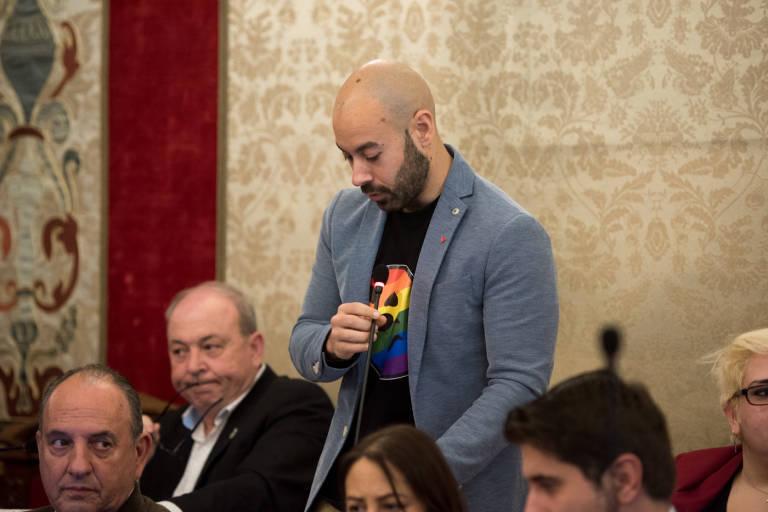 portavoz de Unidas Podemos en el Ayuntamiento de Alicante, Xavier López