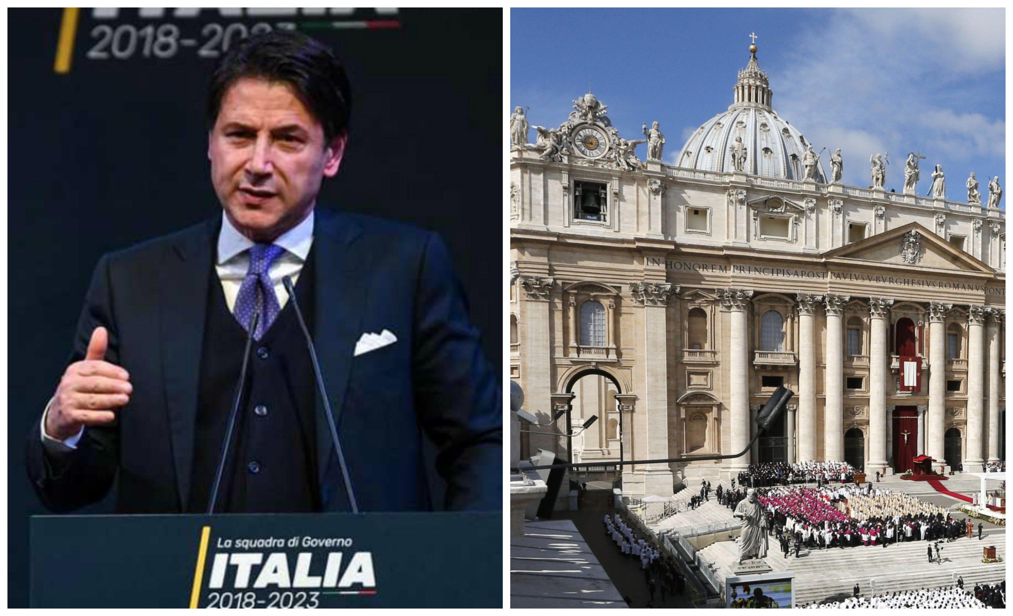 El primer ministro italiano, Giusepp Conte, ha prohibido las misas en todo el país