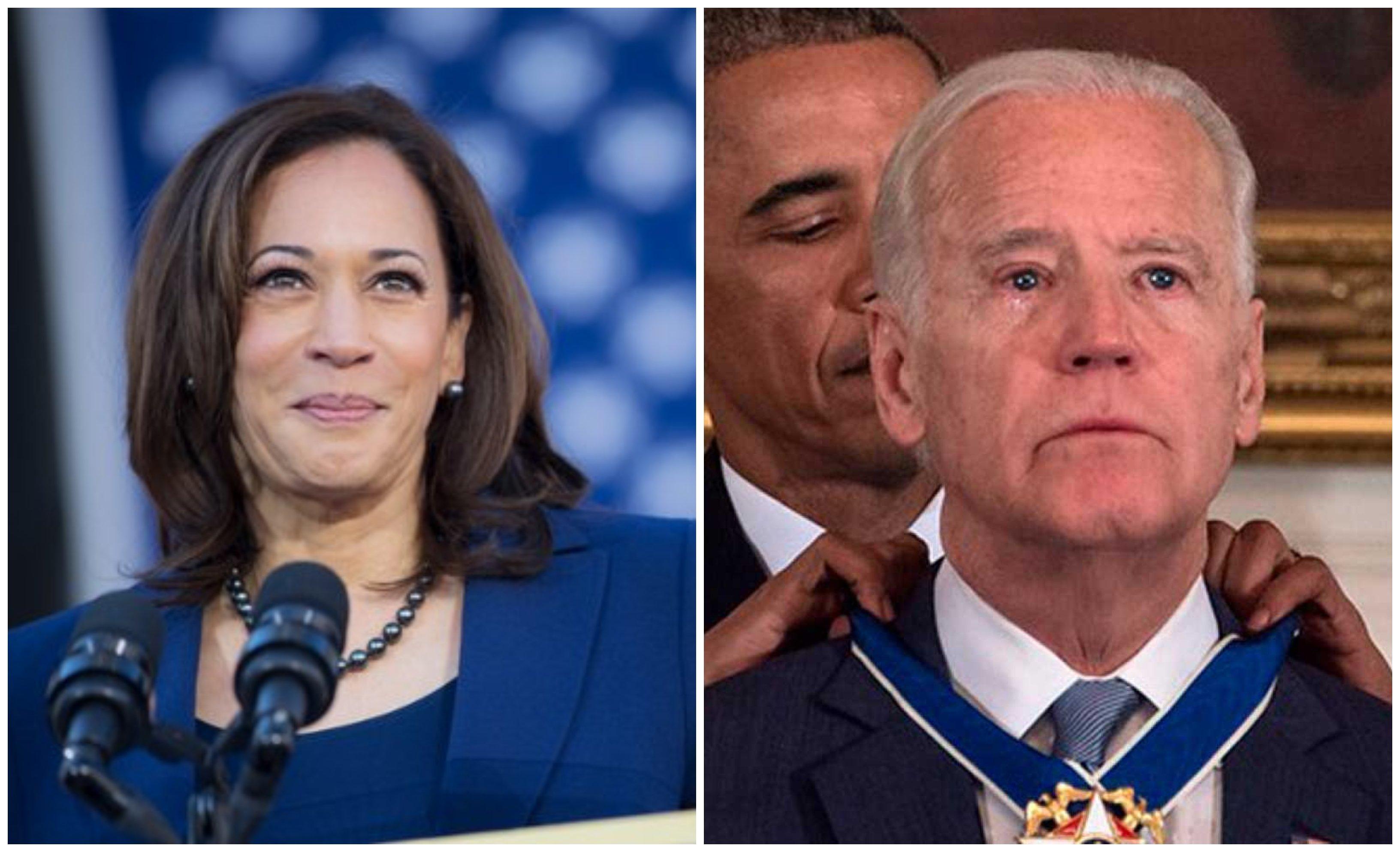 La senadora Kamala Harris, pro abortista y pro matrimonio gay, apoya a Joe Biden como candidato a pr