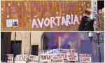 """Ataques feministas y abortistas en el 8-M contra iglesias en Cataluña: """"Os ahogaremos con la sangre de nuestros abortos"""""""