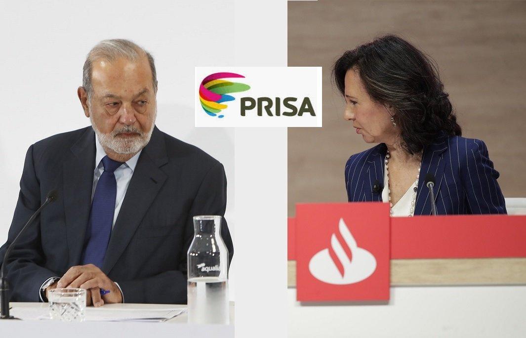 Carlos Slim se lleva bien con Ana Botín, que es quien manda en PRISA