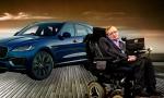 Stephen Hawking, nueva imagen de los coches Jaguar