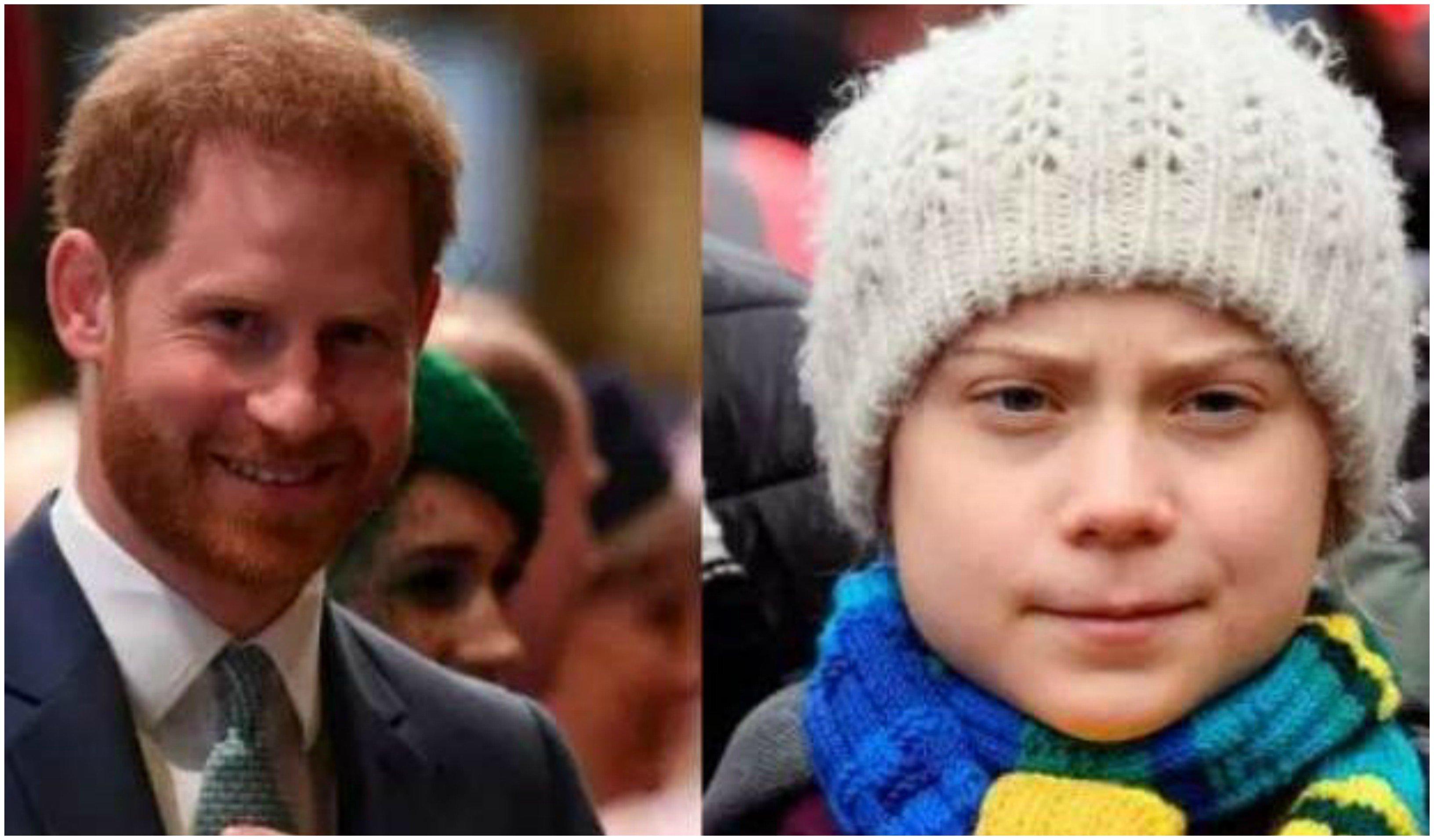 El príncipe Harry cae en la trampa de dos humoristas que se hacen pasar por Greta Thunberg y le pillan criticando a Trump