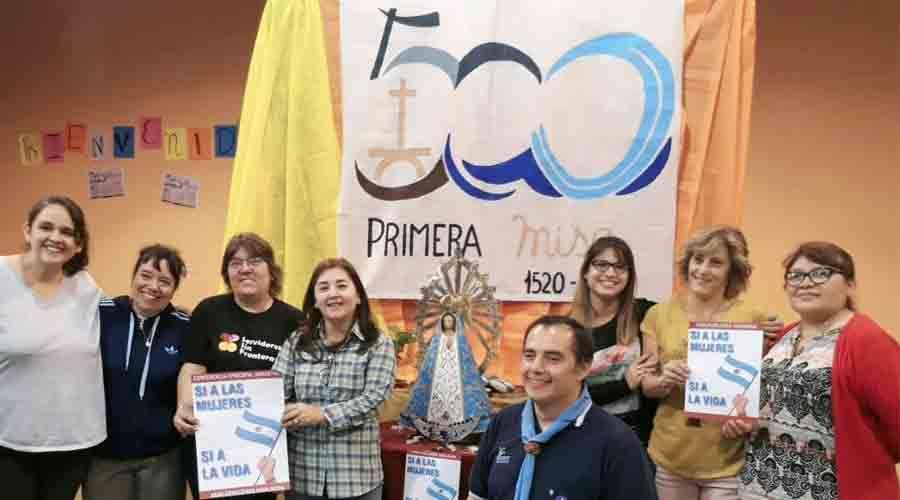 Primera misa Argentina