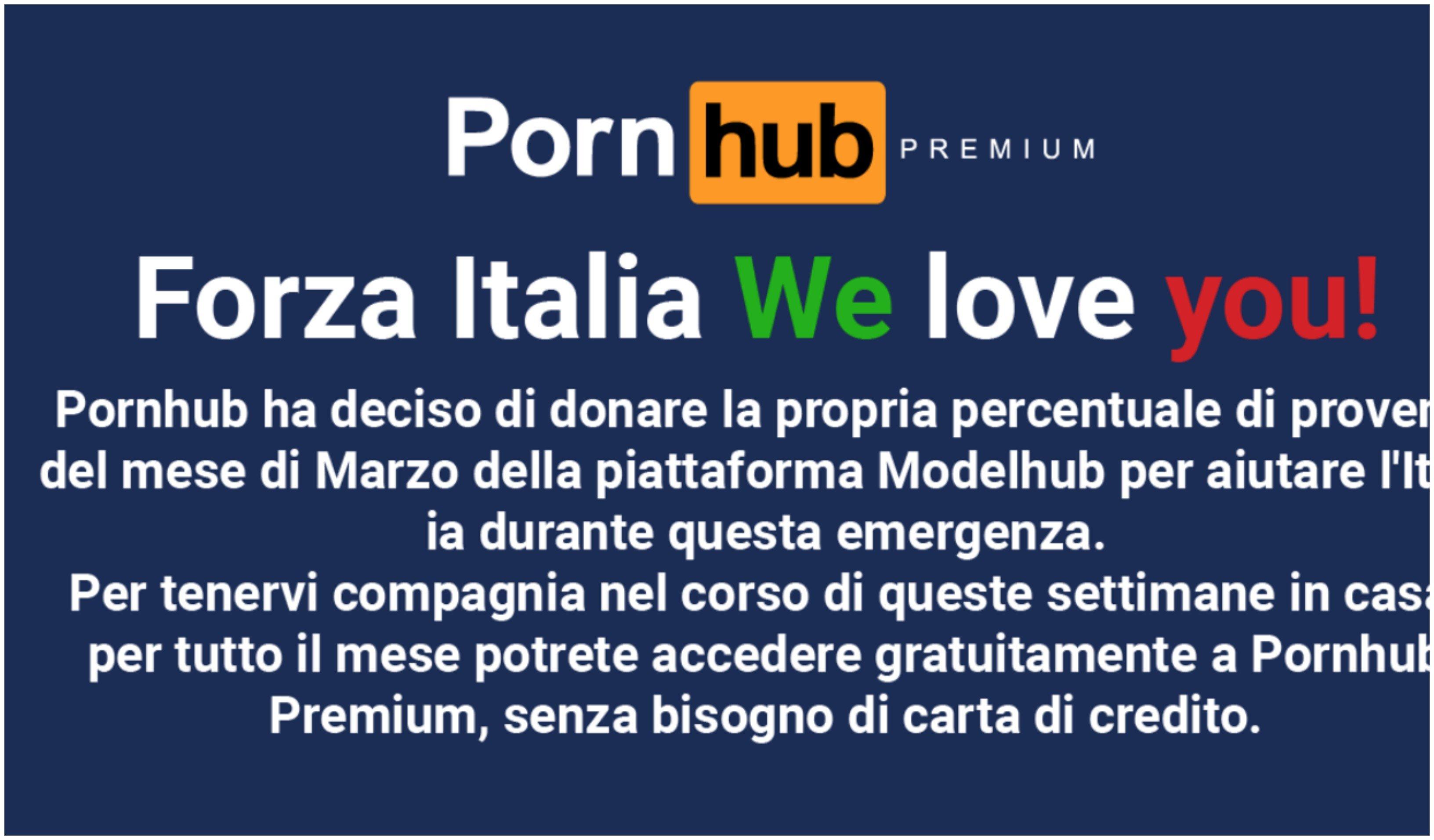 'Pornhub' Italia