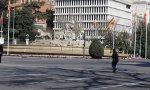 Madrid, prácticamente vacío por las medidas contra el coronavirus