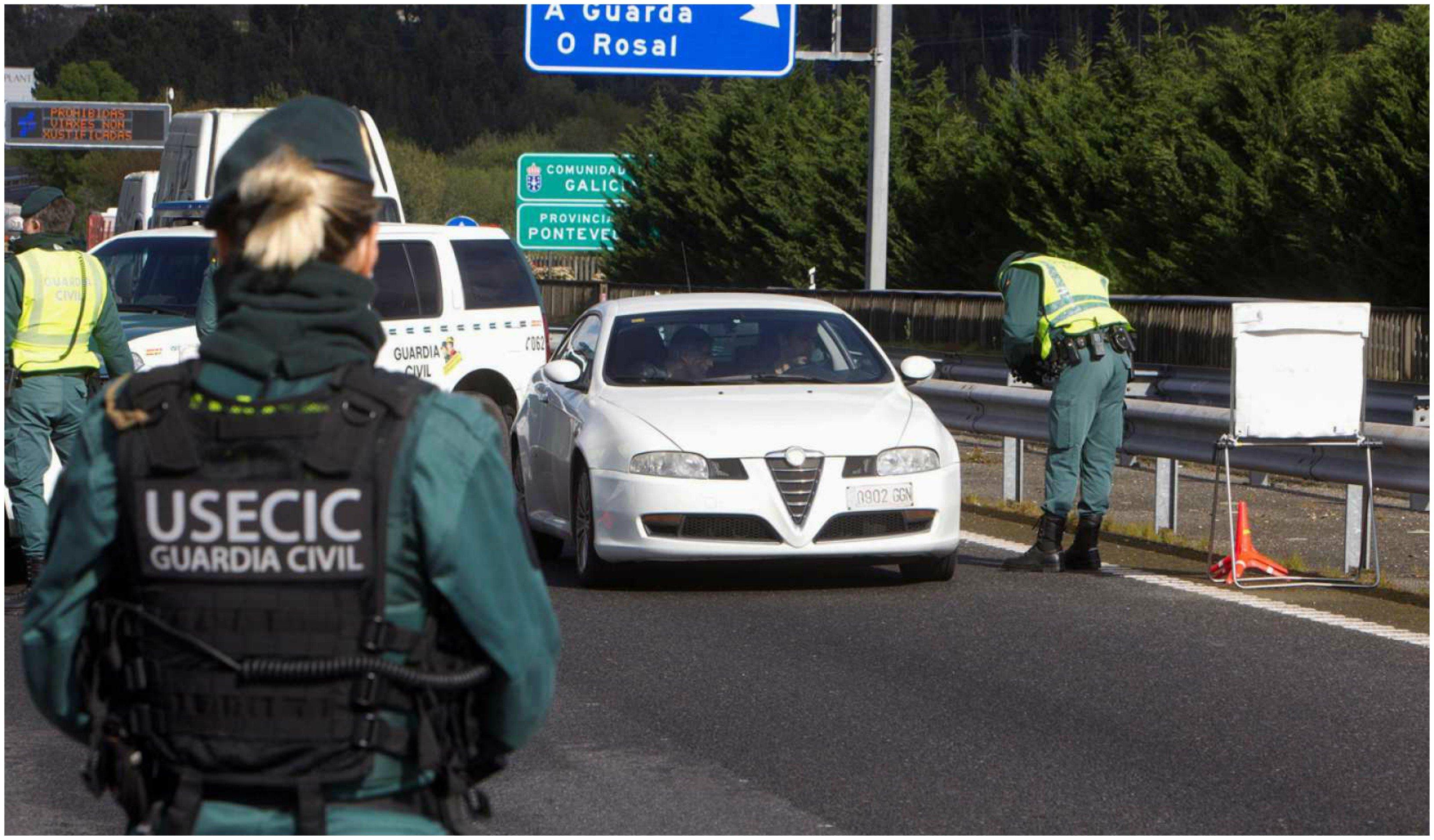 España restablece el control en las fronteras para frenar al coronavirus hasta que finalice el estado de alarma