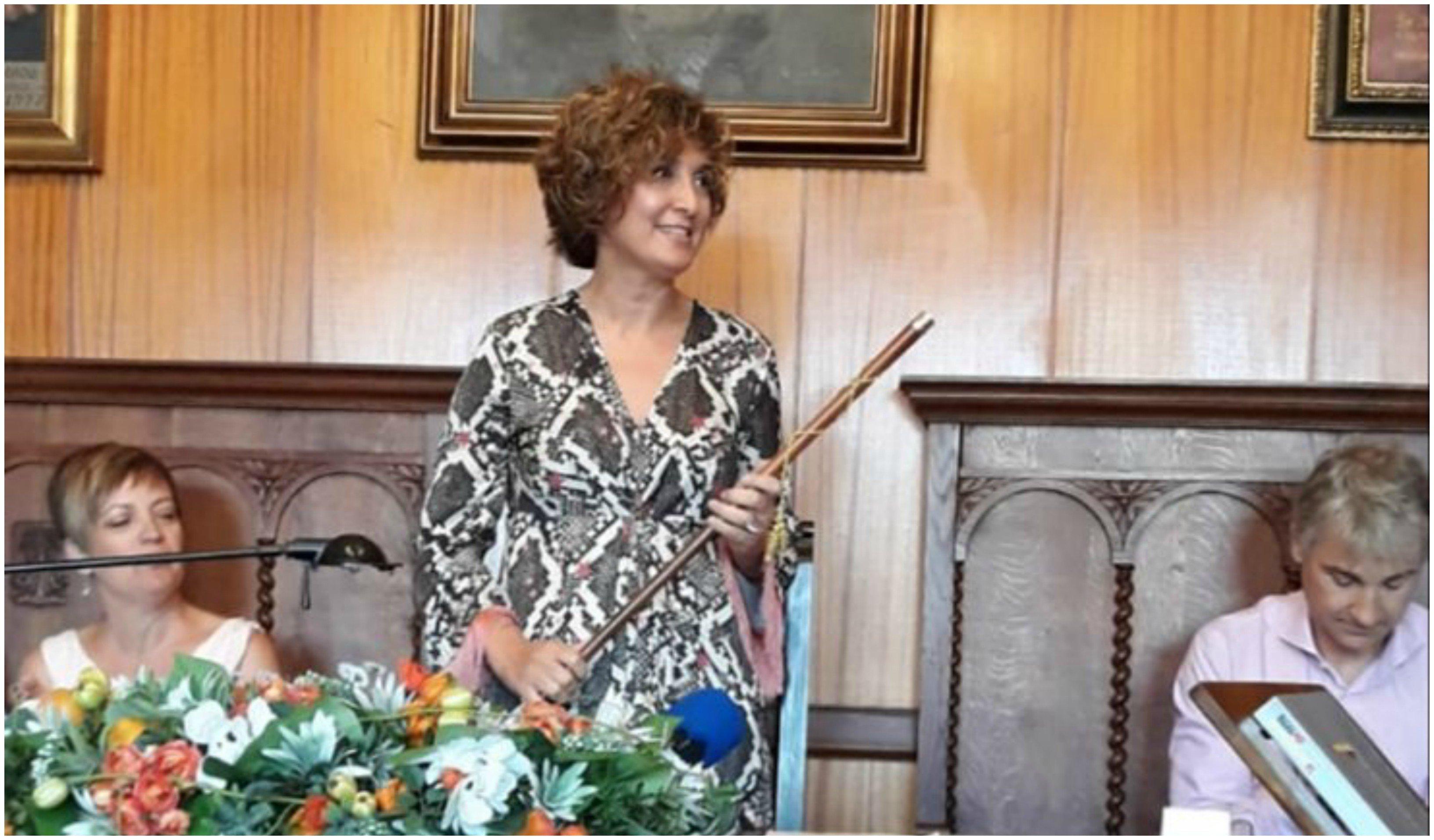 Francisca Mora, alcaldesa de Porreres