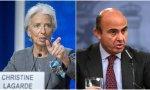 Lagarde y De Guindos, las dos principales caras del BCE