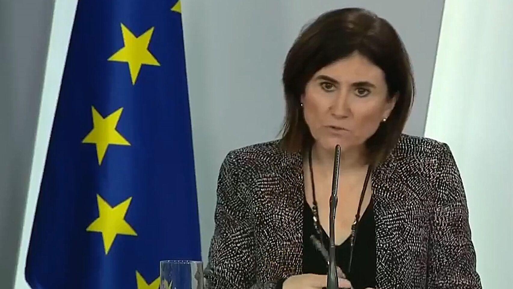 María José Sierra, del Centro de Coordinación de Alertas y Emergencias Sanitarias