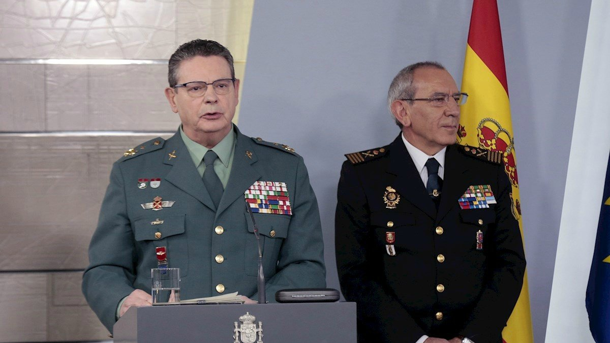 Laureano Ceña y José Ángel González