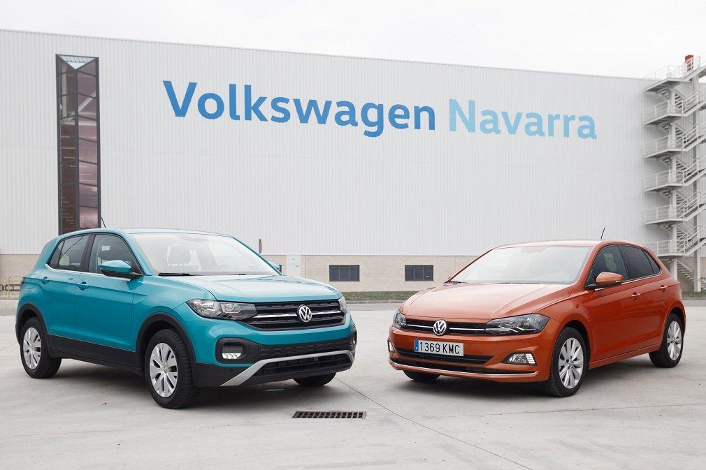 El T-Cross y el Polo, los dos modelos que se fabrican en Volkswagen Navarra