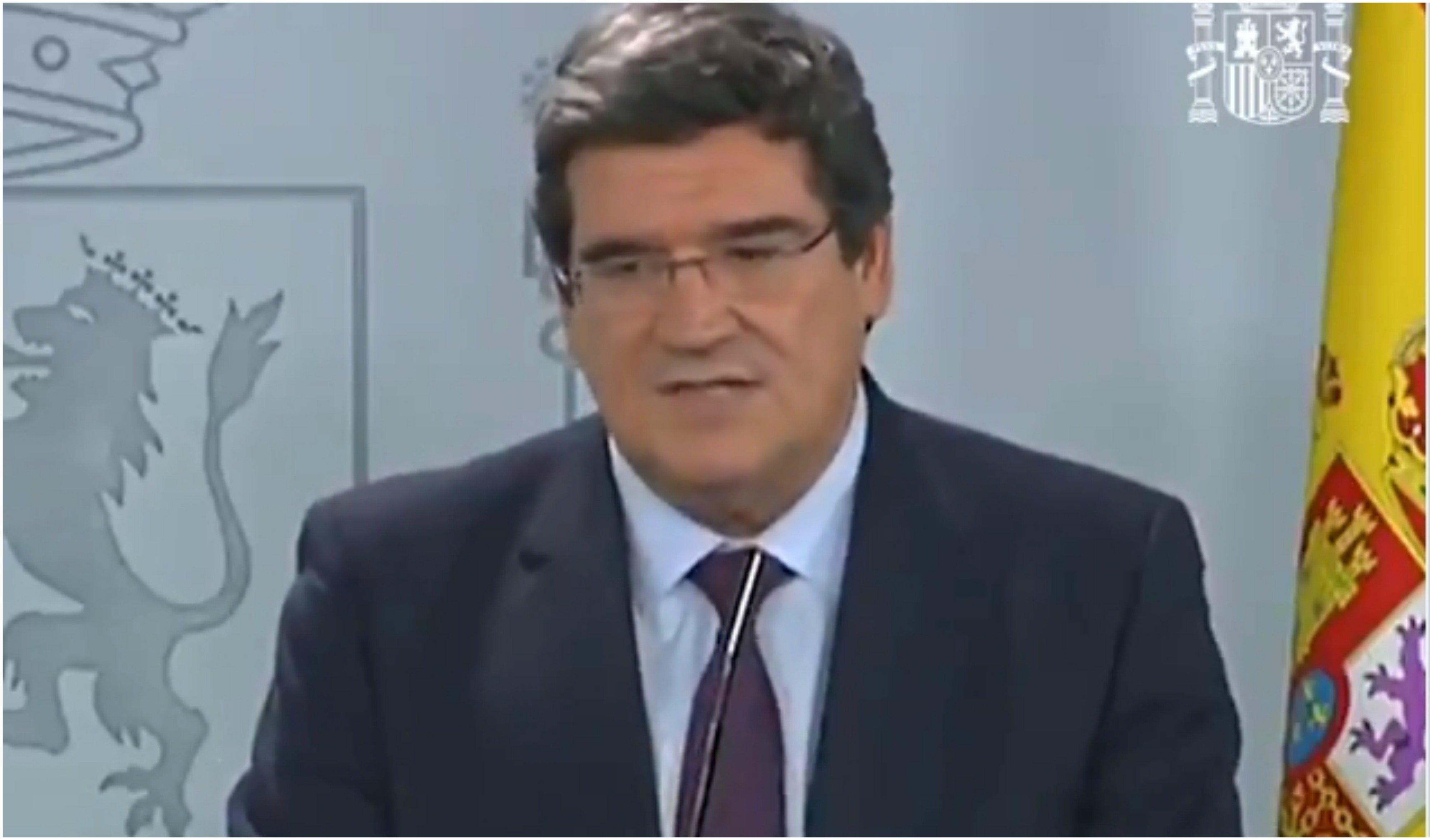 El ministro de Seguridad Social, José Luis Escrivá, subvencionará a los autónomos… que hayan perdido un 75% de sus ingresos. Con ingresos, no con un subsidio.
