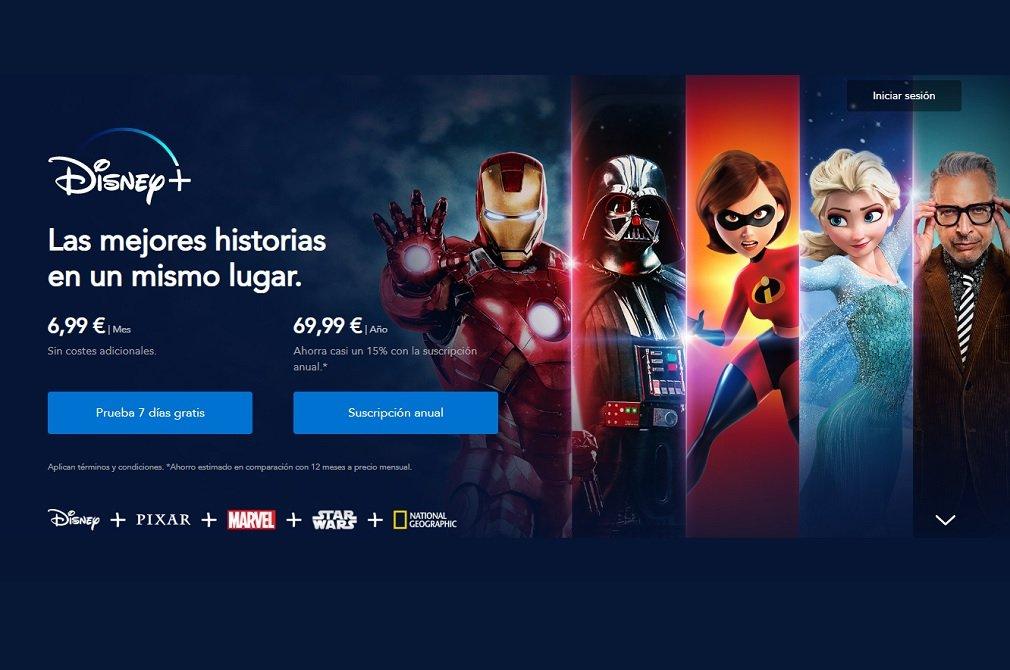 Disney+ aterriza en España tirando los precios del sector, como hizo hace meses en EEUU
