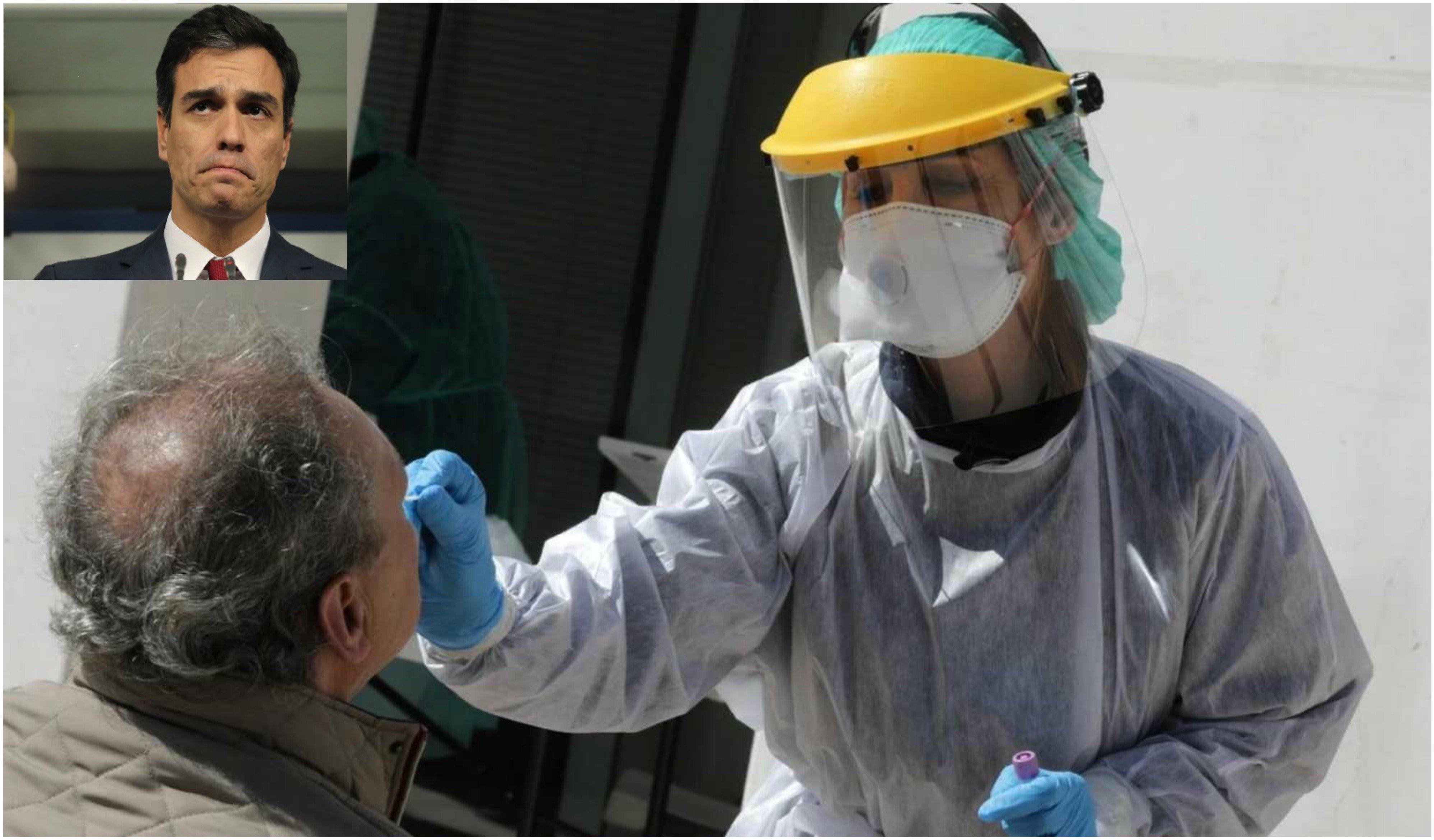 Coronavirus. Chapuza y ridículo de Pedro Sánchez, a costa de los defectuosos tests rápidos
