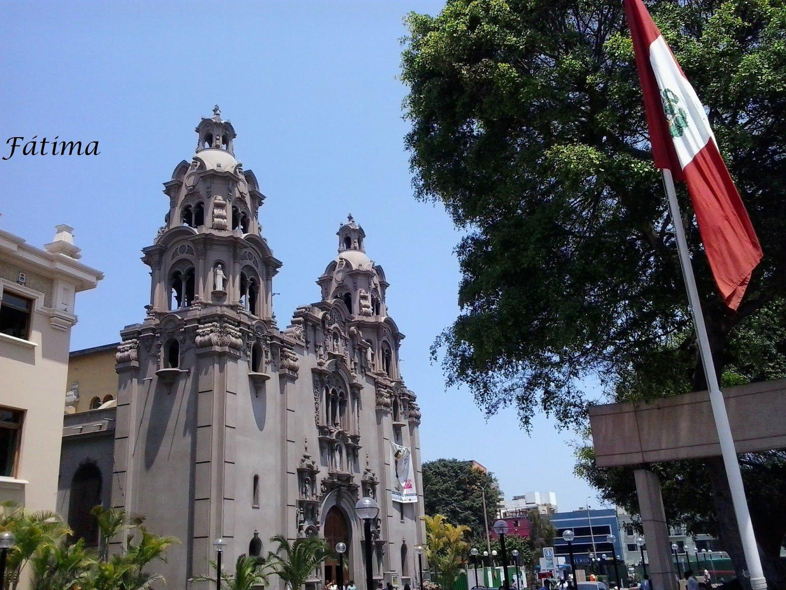 Iglesia atacada en Perú