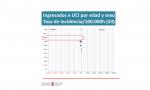 Datos oficiales del Gobierno de Navarra referentes a ingresos en la UCI