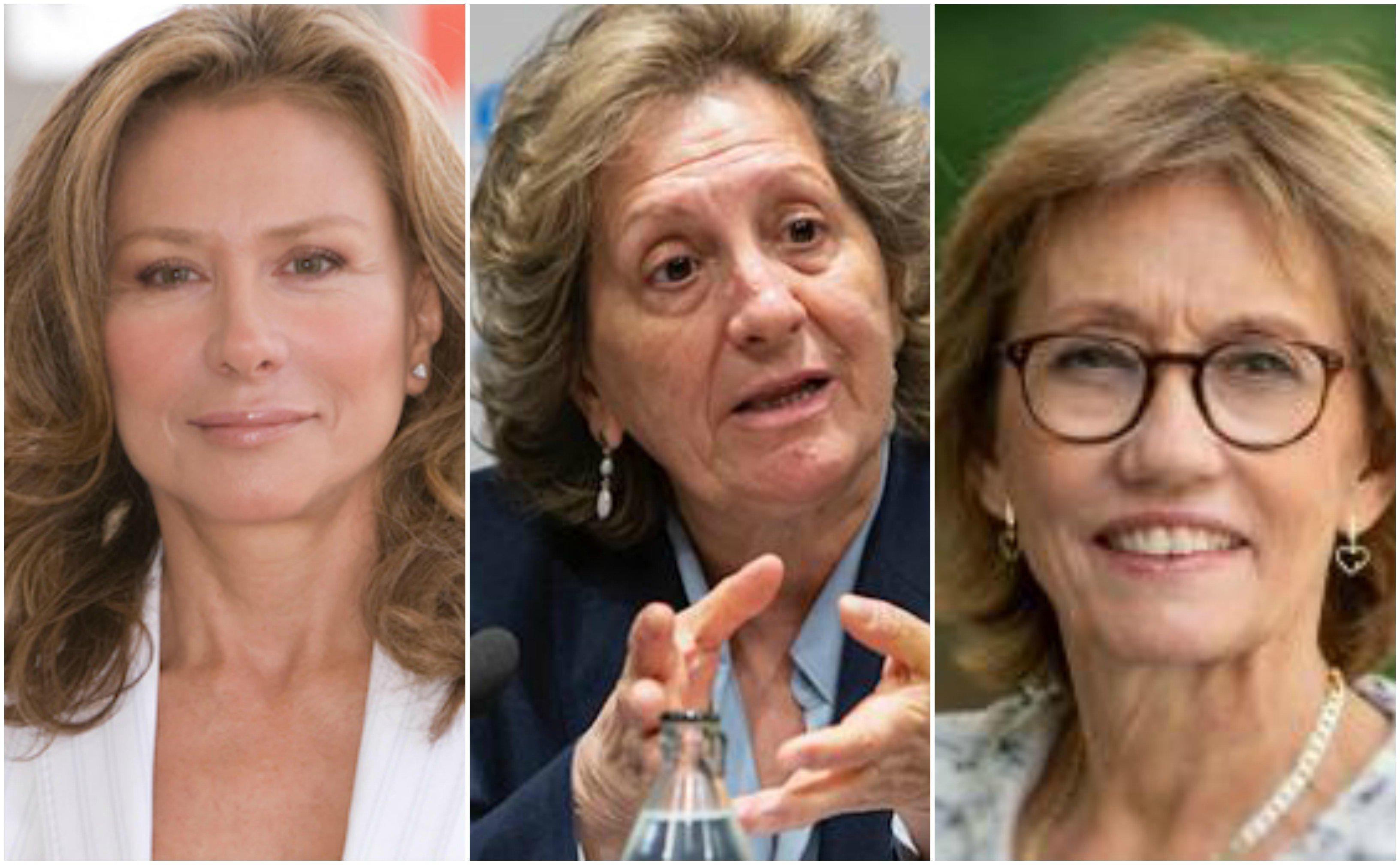 Alicia Koplowitz, Pilar González y Eugenia Bieto