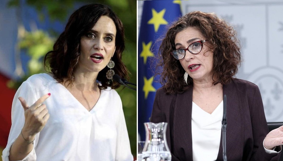 Isabel Díaz Ayuso y Mª Jesús Montero