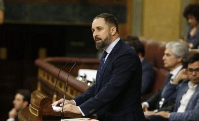 Santiago Abascal se atrevió a hablar de Dios en el Congreso