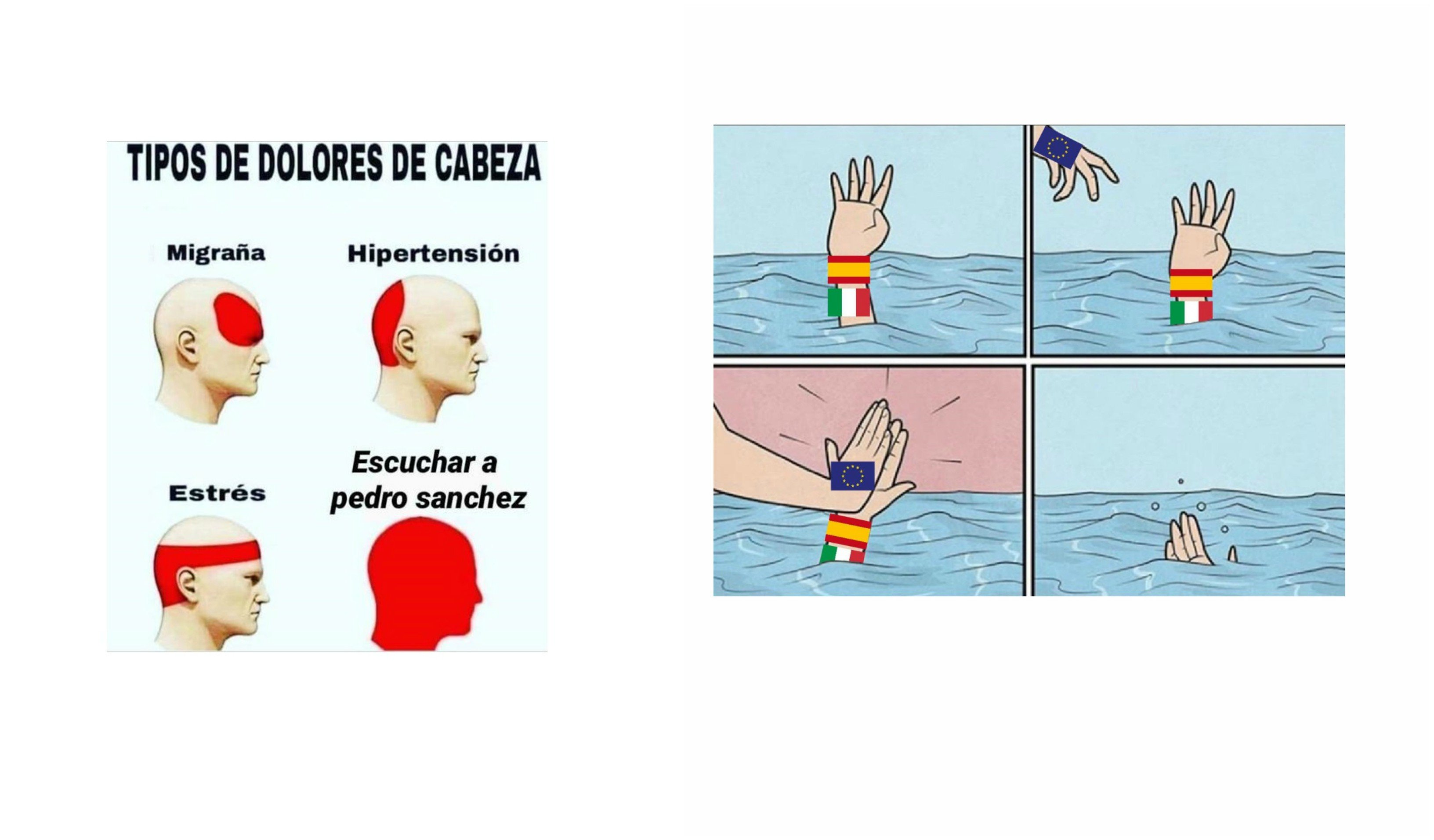 Memes. Cefaleas Sánchez