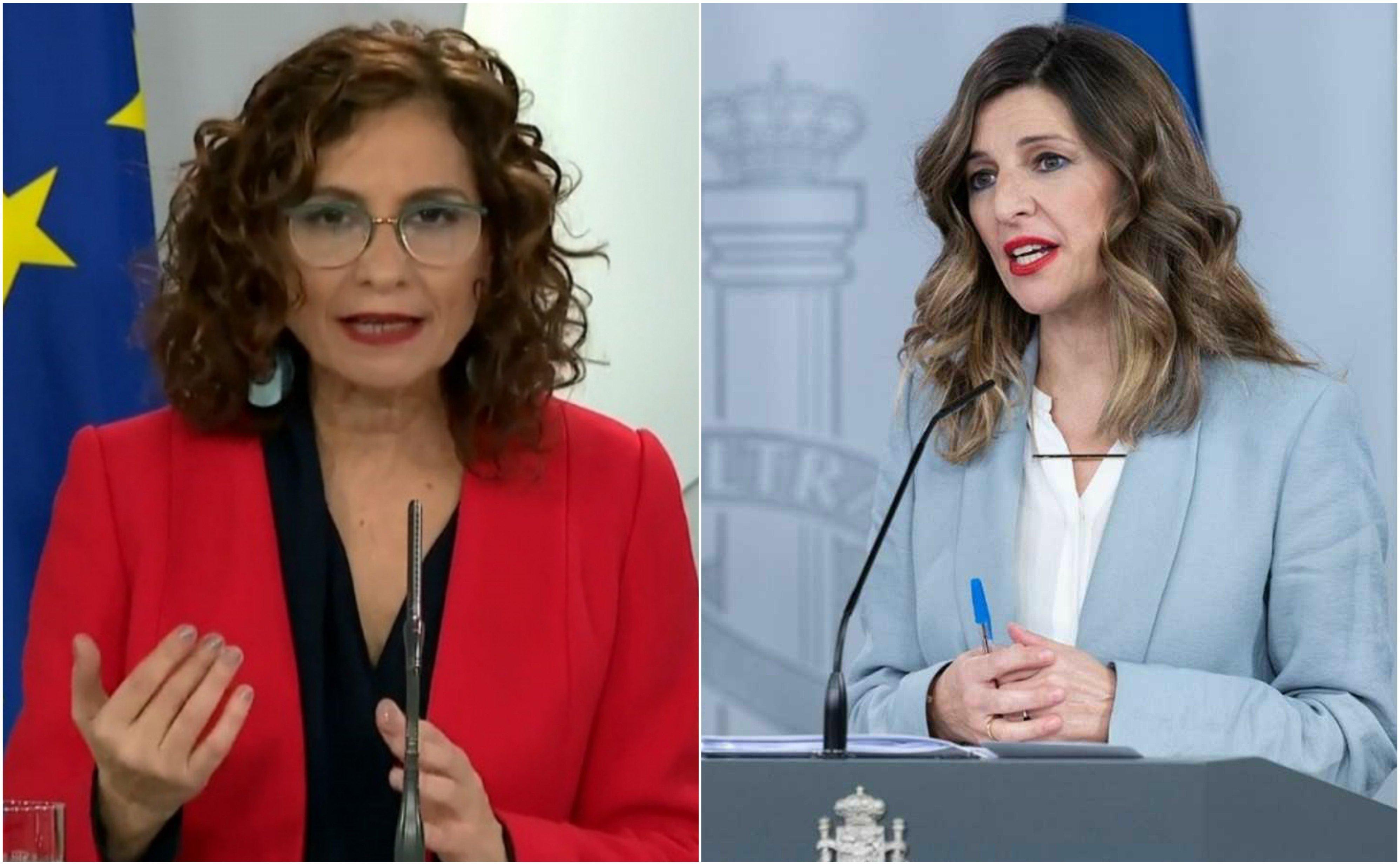"""Consejo de Ministros. La comunista Yolanda Díaz amenaza: """"no admitiremos presiones"""" contra el """"interés general"""""""