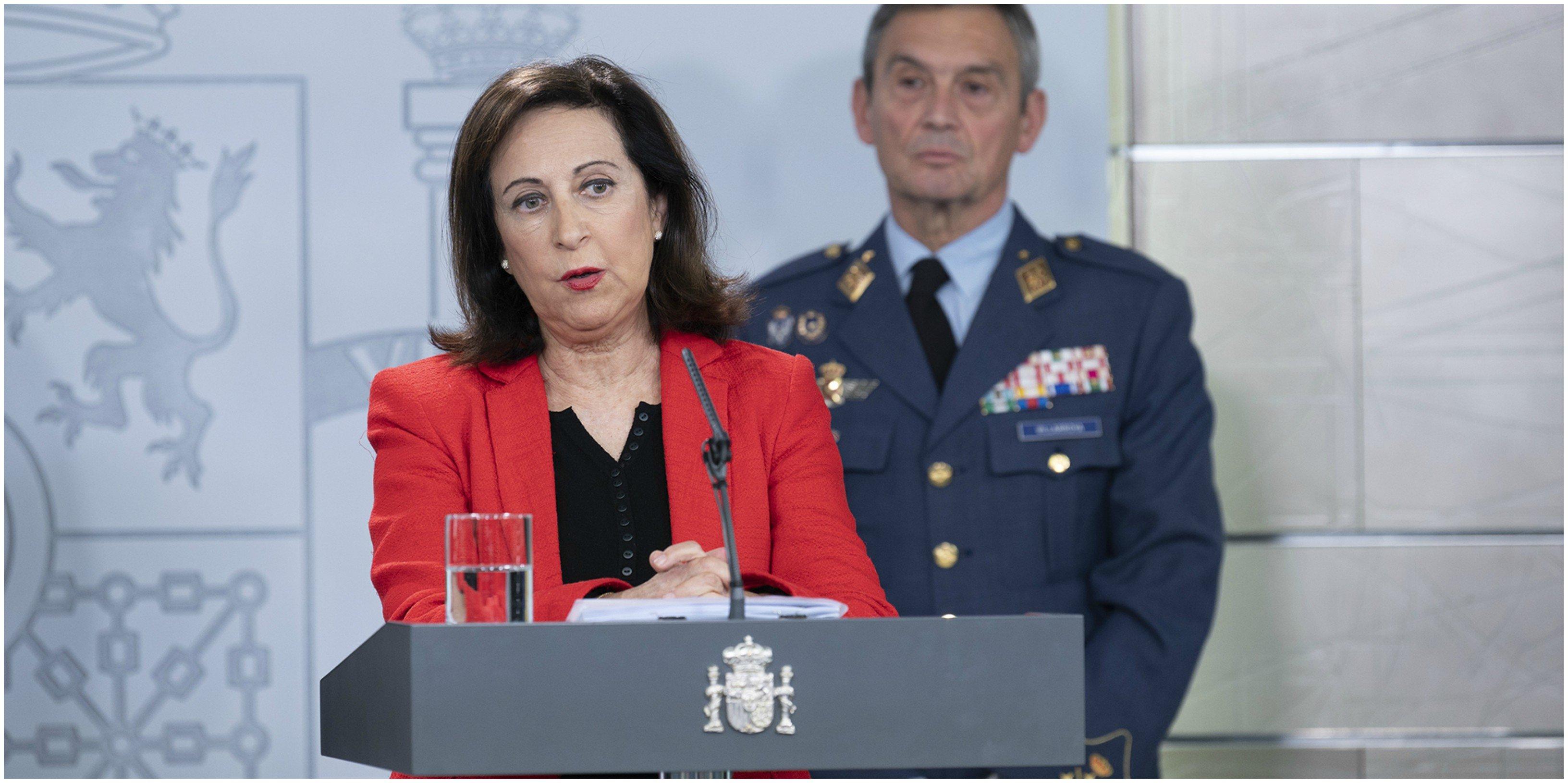 Margarita Robles reconoce que el Gobierno ha cometido fallos: ¿Por ejemplo mentir?
