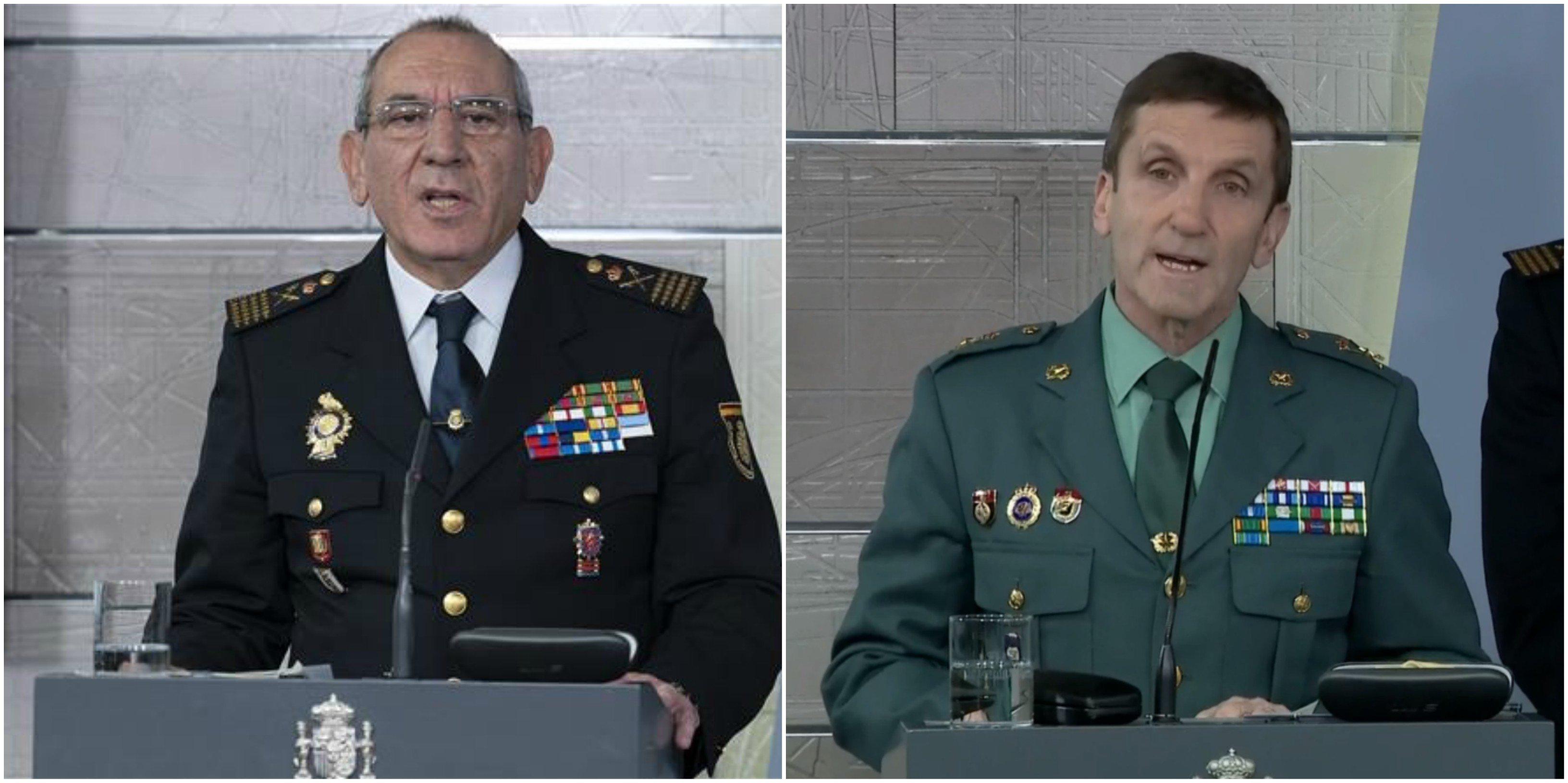 José Ángel González y José Manuel Santiago Marín