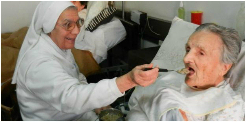 Monjitas… heroicas: volcadas en la ayuda contra los afectados coronavirus, pero sin comida
