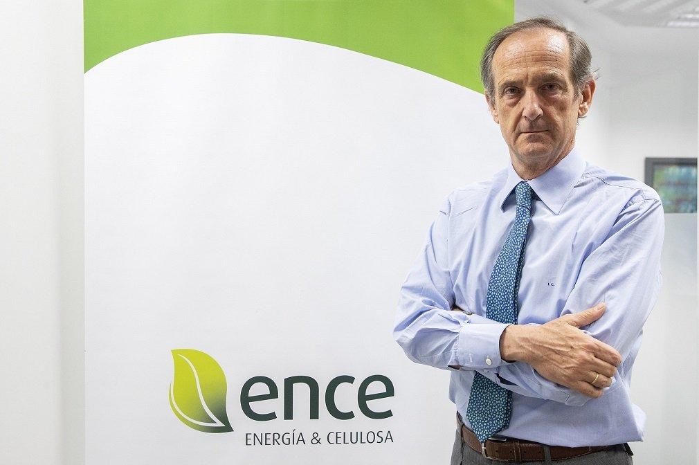 Ignacio de Colmenares, vicepresidente y CEO de Ence