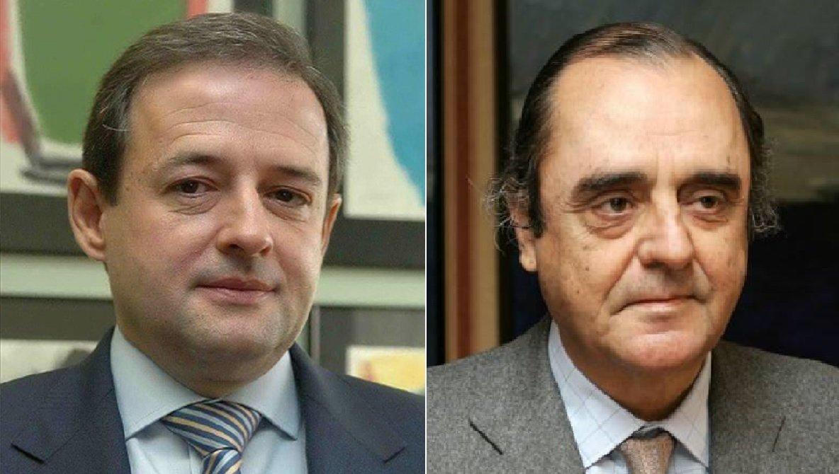 Santos Martínez-Conde (izquierda) y Carlos March Delgado