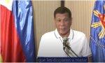 Confinamiento Duterte: Al que cause problemas durante la cuarentena, se le mata