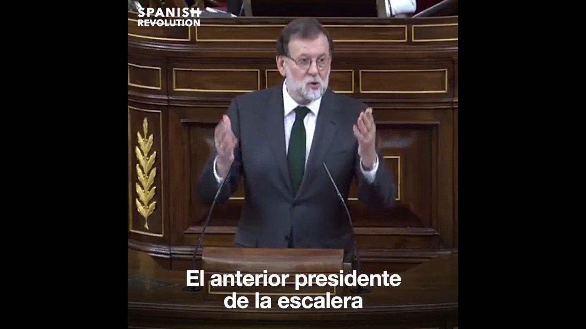 La culpa del coronavirus la tiene Rajoy