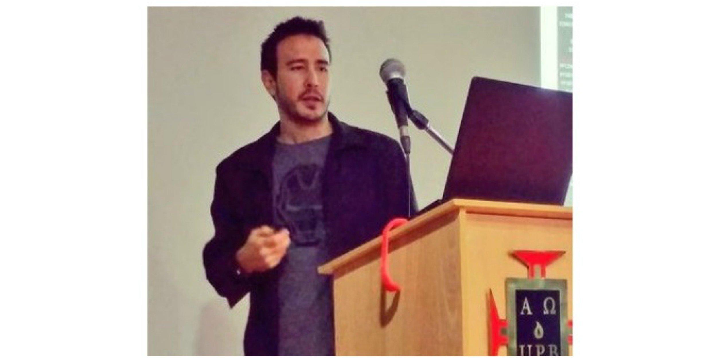 Sebastián Toro, autor del artículo que señala que el confinamiento no acaba con el coronavirus pero sí con la economía