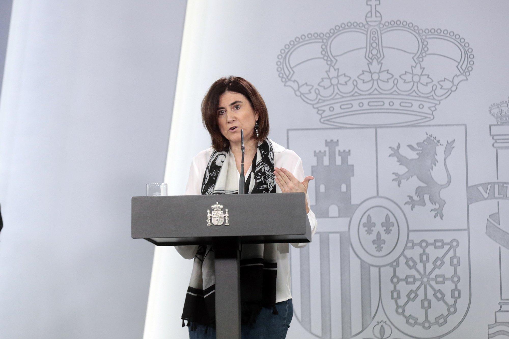 """María José Sierra: """"La tasa de crecimiento de la pandemia disminuye en prácticamente todas las comunidades"""""""