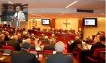 Plenaria de la Conferencia Episcopal Española y su presidente, Juan José Omella