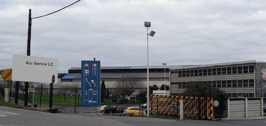 La planta de A Coruña de Alu Ibérica