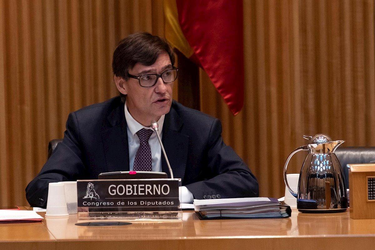 Salvador Illa no ha aportado ningún dato nuevo este miércoles, en su comparecencia en el Congreso