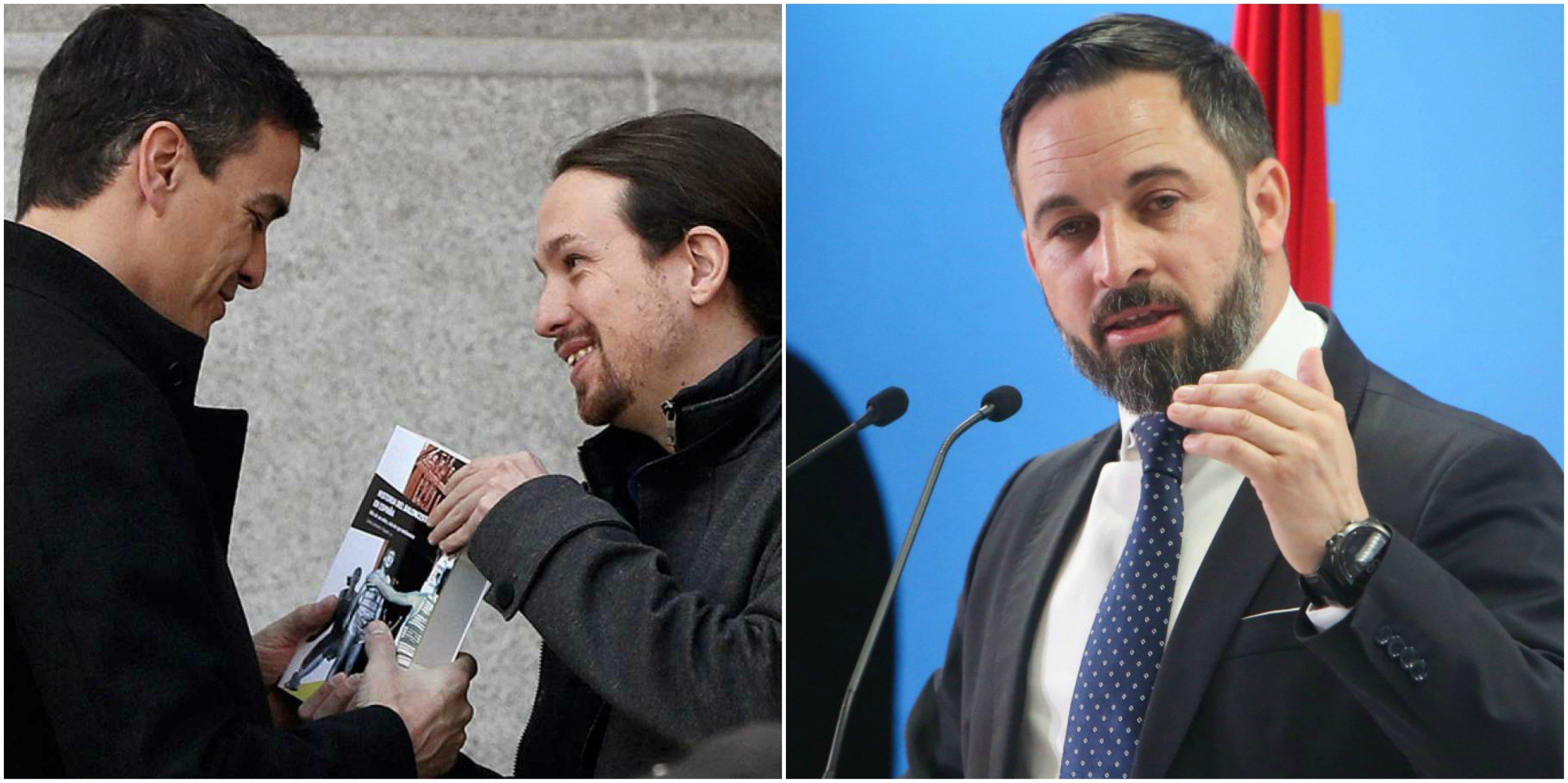 Moncloa propone un gran pacto nacional… sin Vox, al que se pretende ilegalizar