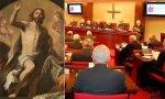La Resurrección de Jesús, de Pietro Novelli (Museo de El Prado) y una asamblea plenaria de la CEE