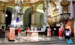 Desalojo de la catedral de Granada el Viernes Santo