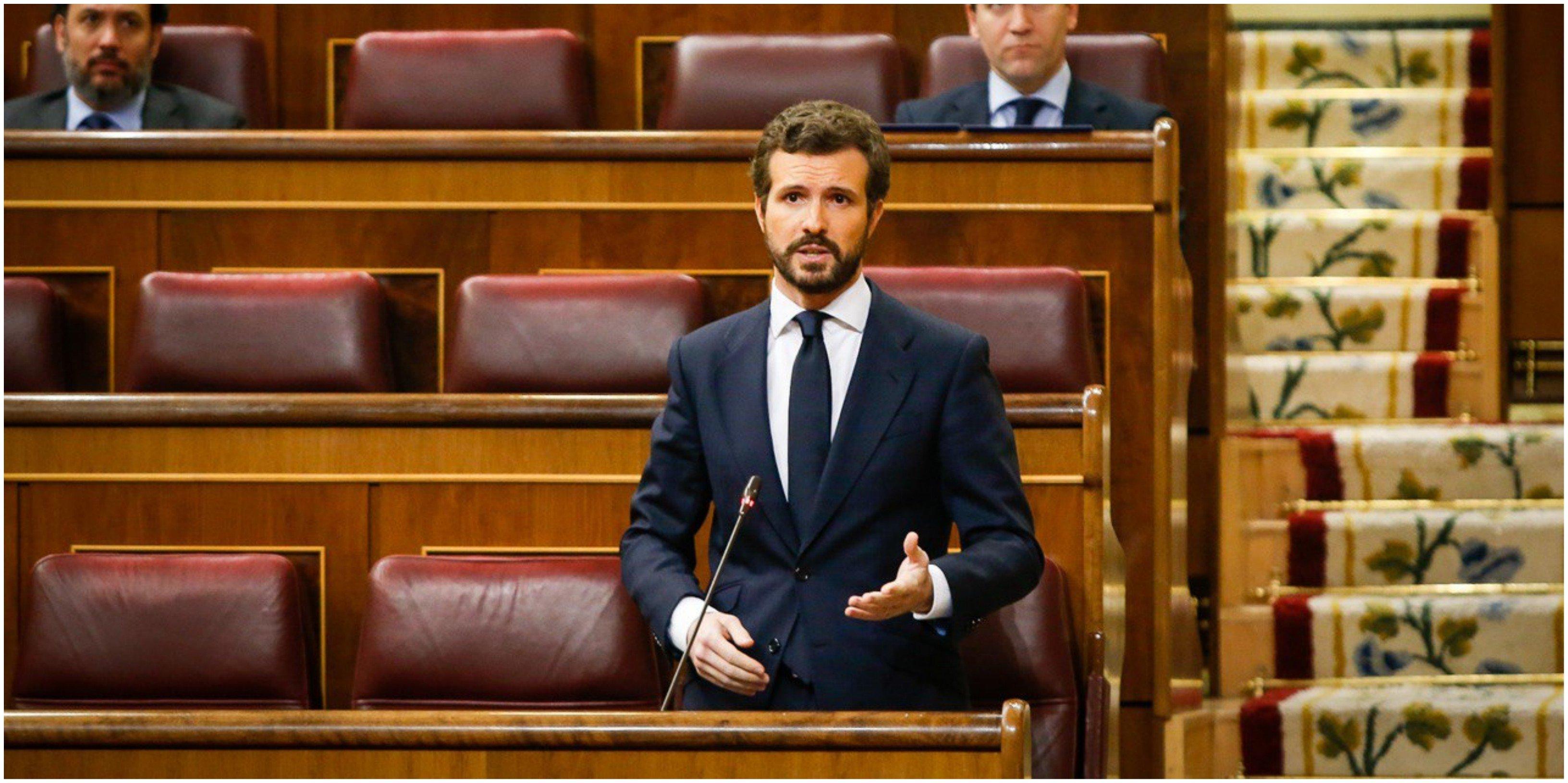 Pablo Casado insiste: Sánchez miente sobre el número real de españoles fallecidos por coronavirus
