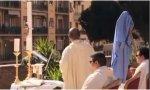 """Roma. Un sacerdote celebra misa desde una azotea: """"La gente estaba agradecida porque no se sentían tan solos"""""""