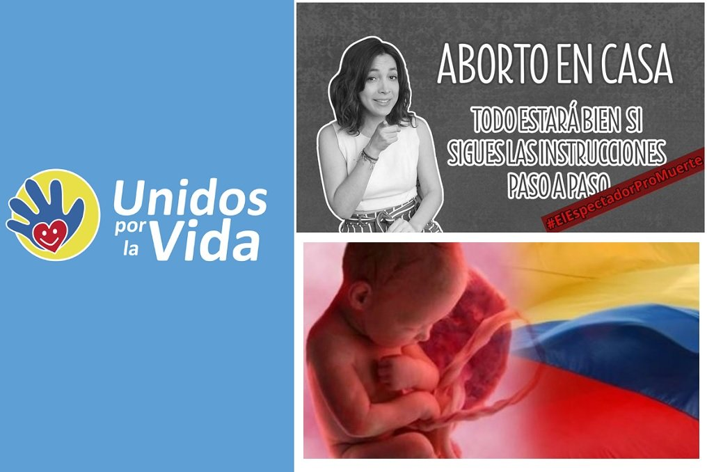 Plataforma Unidos por la vida, en Colombia