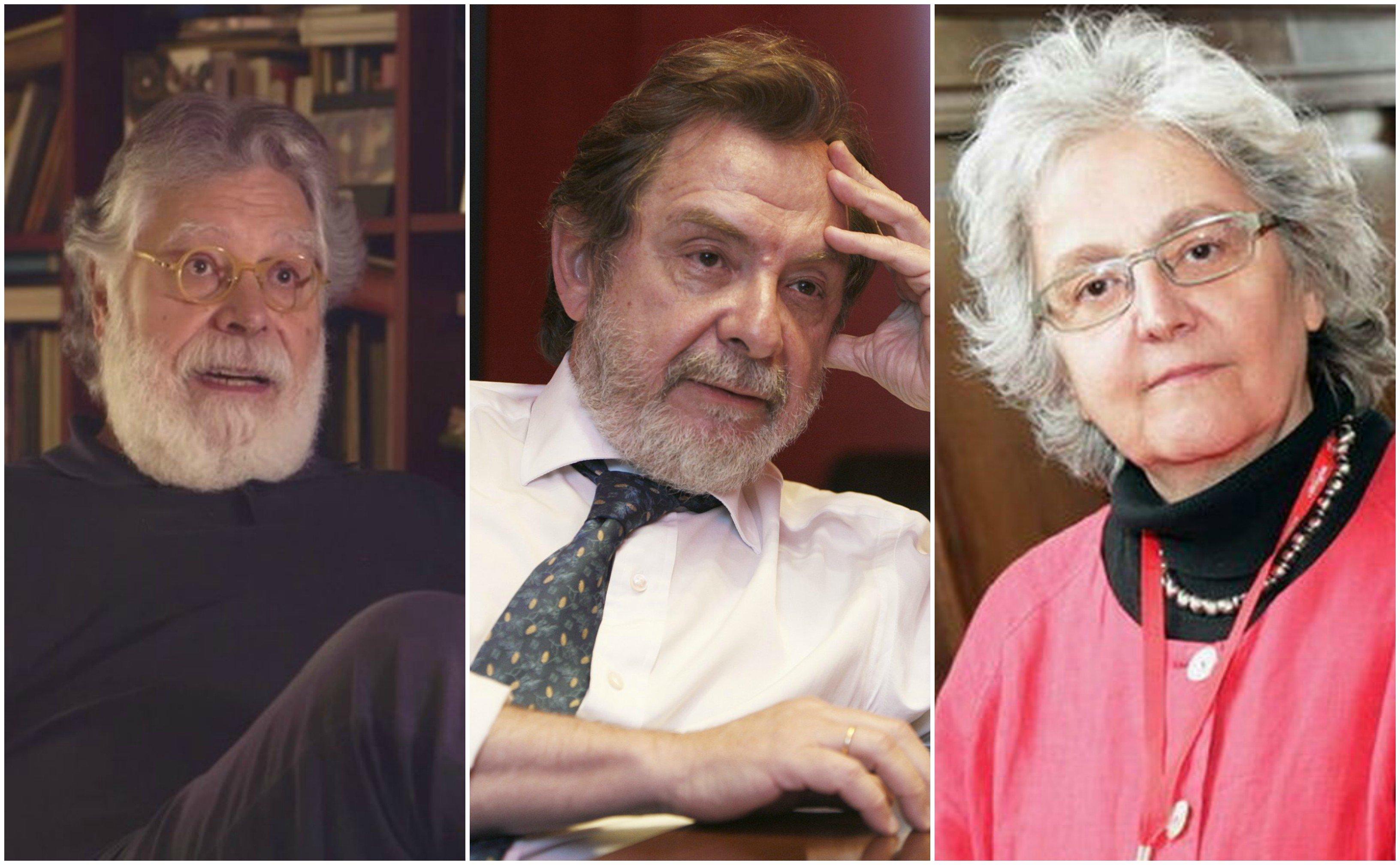 Joaquín Estefanía, Juan Luis Cebrián y Soledad Gallego Díaz