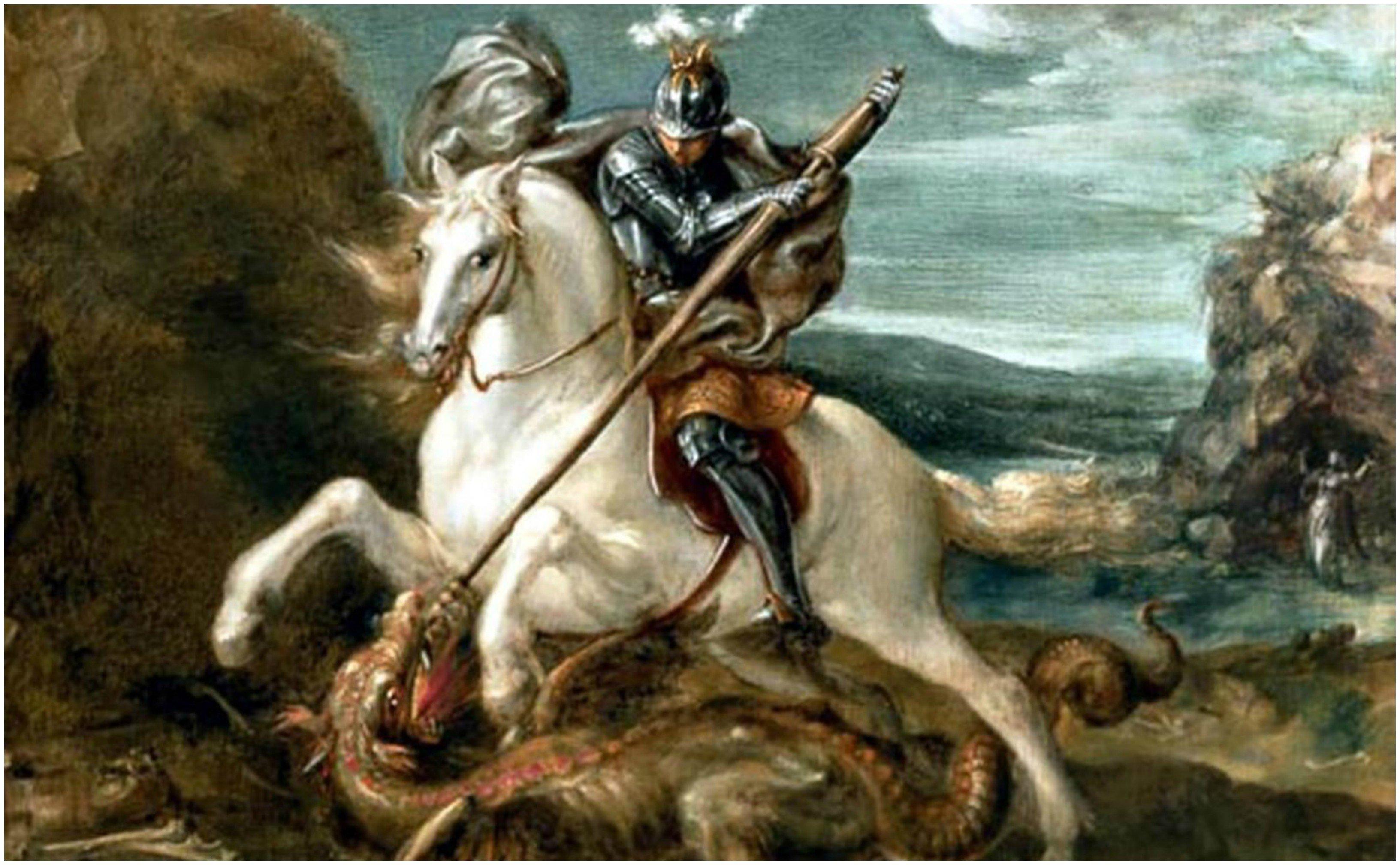 San Jorge mató al dragón para salvar a la doncella, lo cual atenta contra el feminismo, el ecologismo y el animalismo: ¡Bien por George!