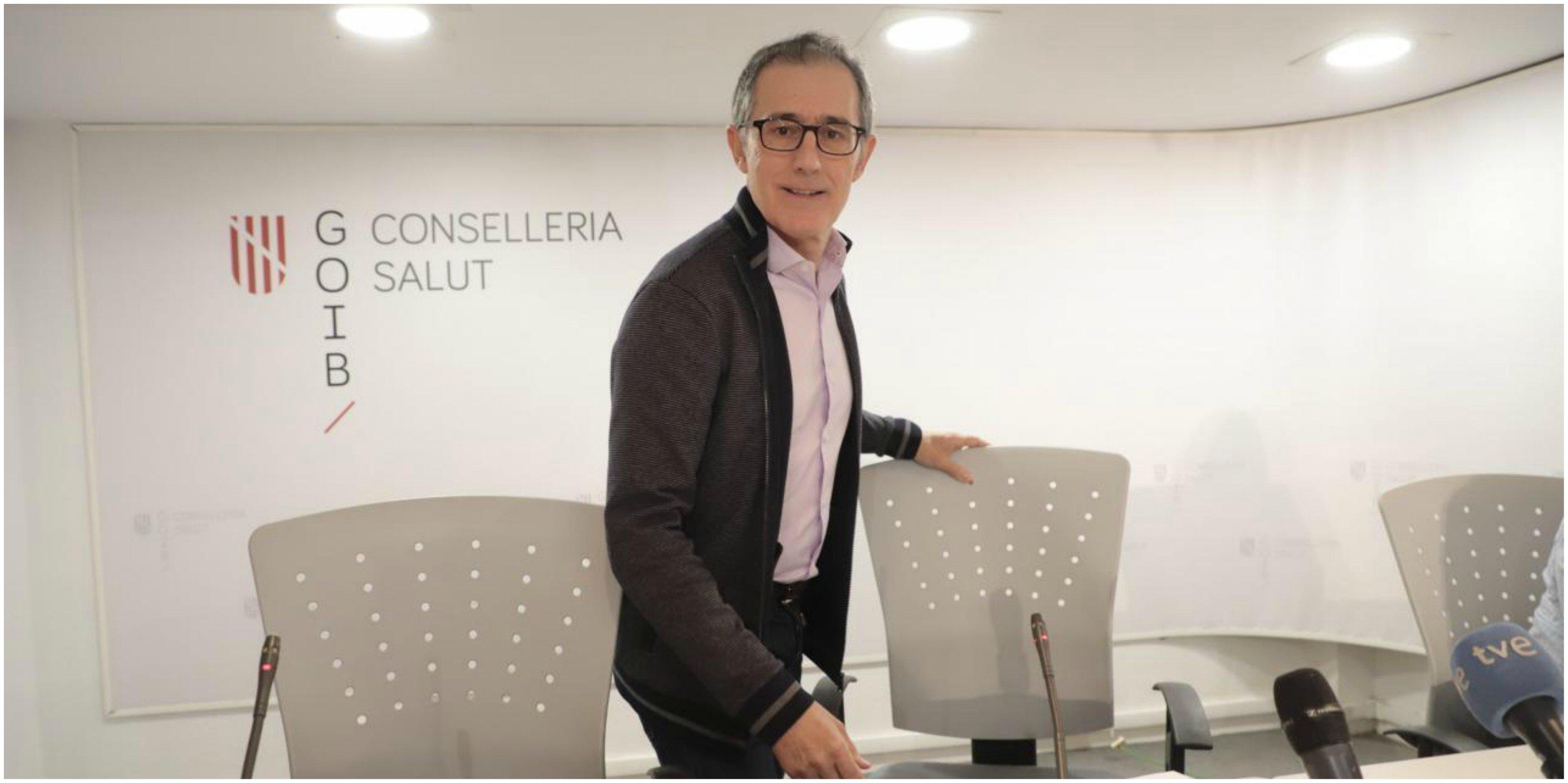 Javier Arranz, portavoz del comité de seguimiento del coronavirus en Baleares