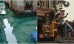 Los canales de Venecia, limpios y escena de sacrificio humano de la película 'Apocalypto'
